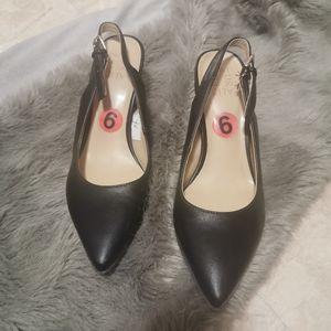 Naturalizer leather slingback sandal size 6